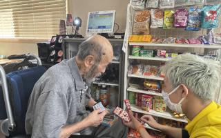 【高齢者住宅新聞】施設内コンビニ設置